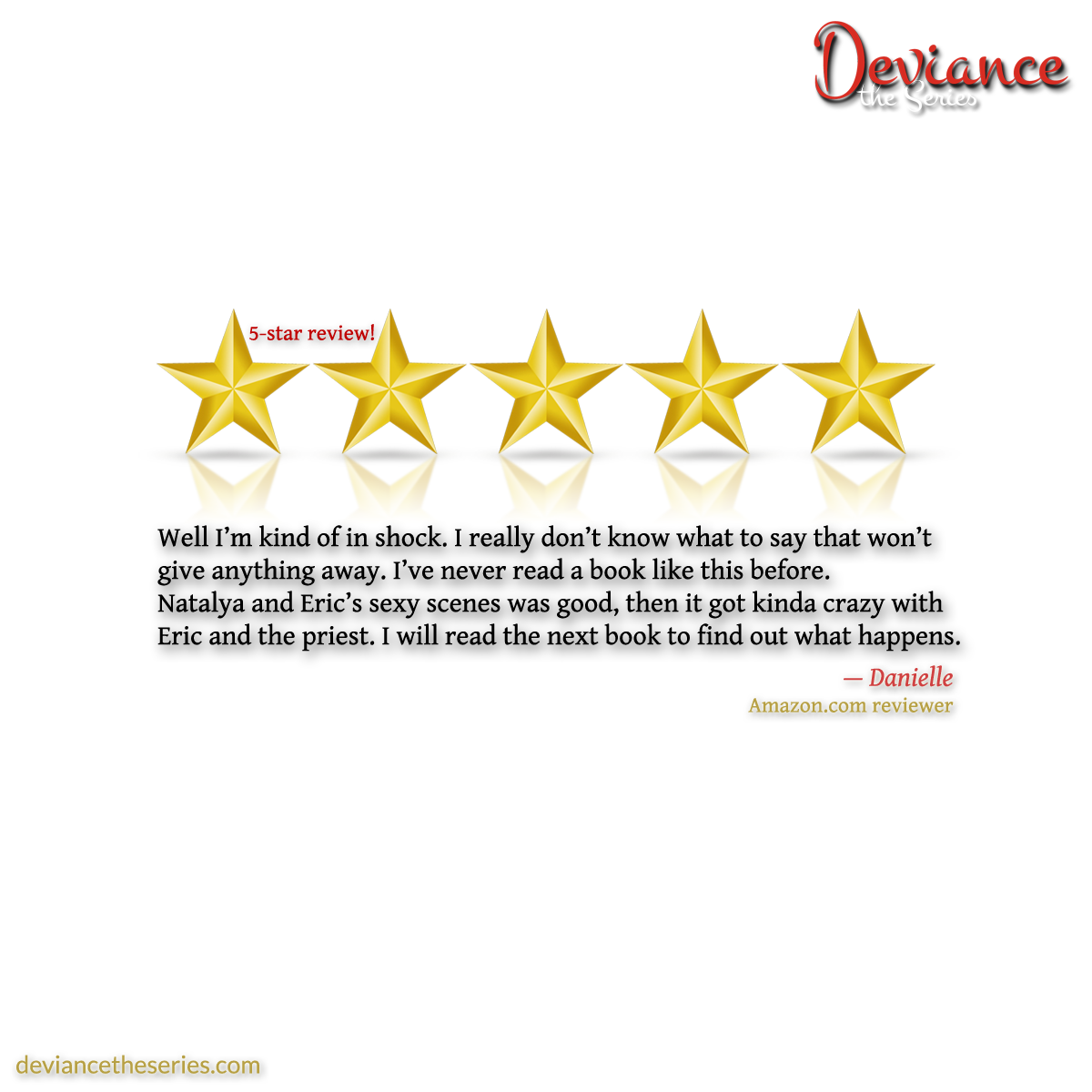 Deviance the Series, Volume 1: Five-Star Review