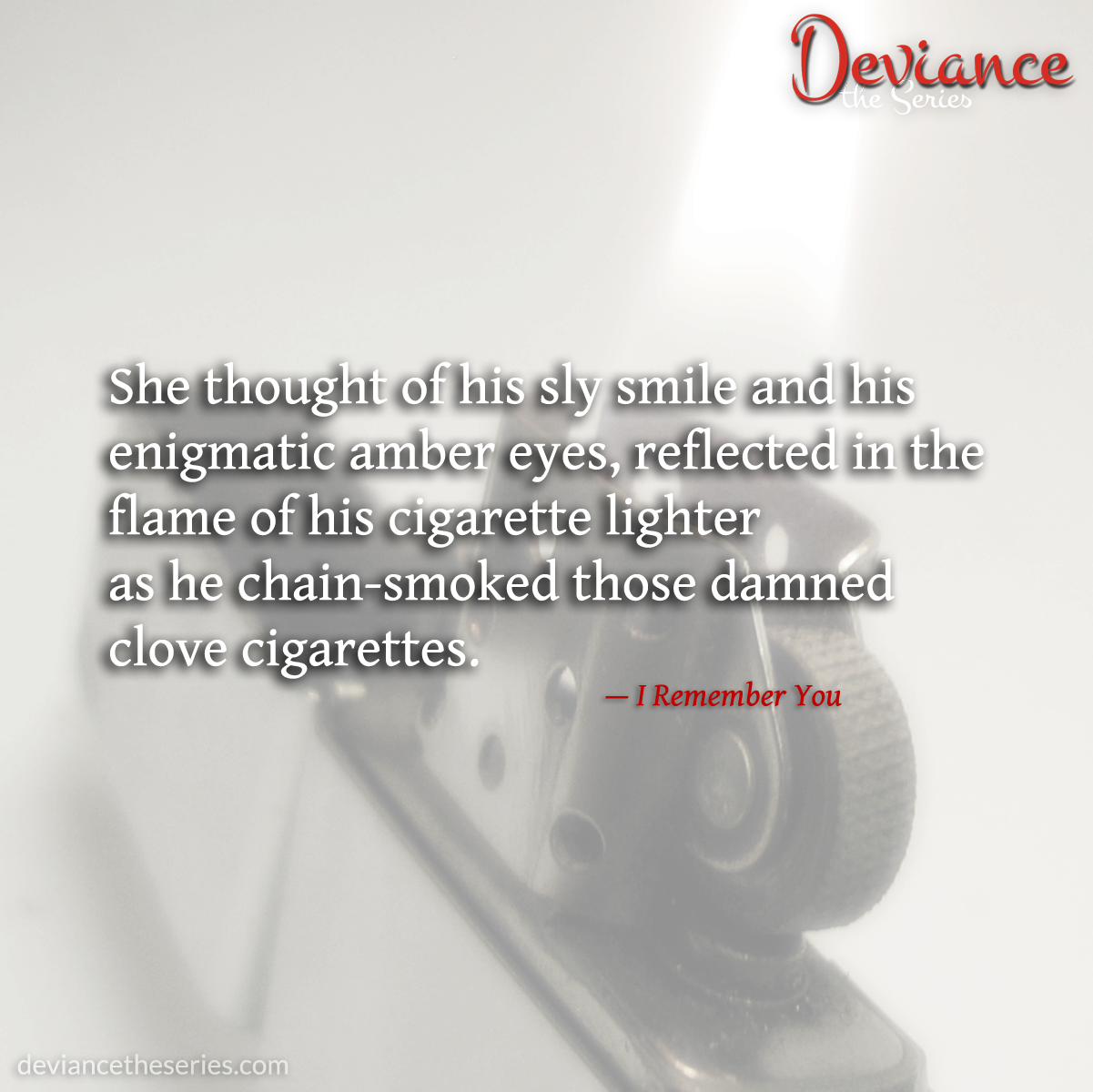 Deviance the Series, Volume 1: I Remember You